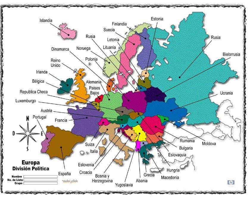 Juegos de Geografa  Juego de Capitales de Europa  Busca la