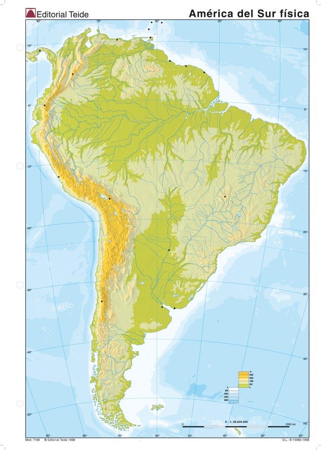 Juegos de geograf a juego de am rica del sur relieve for Cuarto kit del america