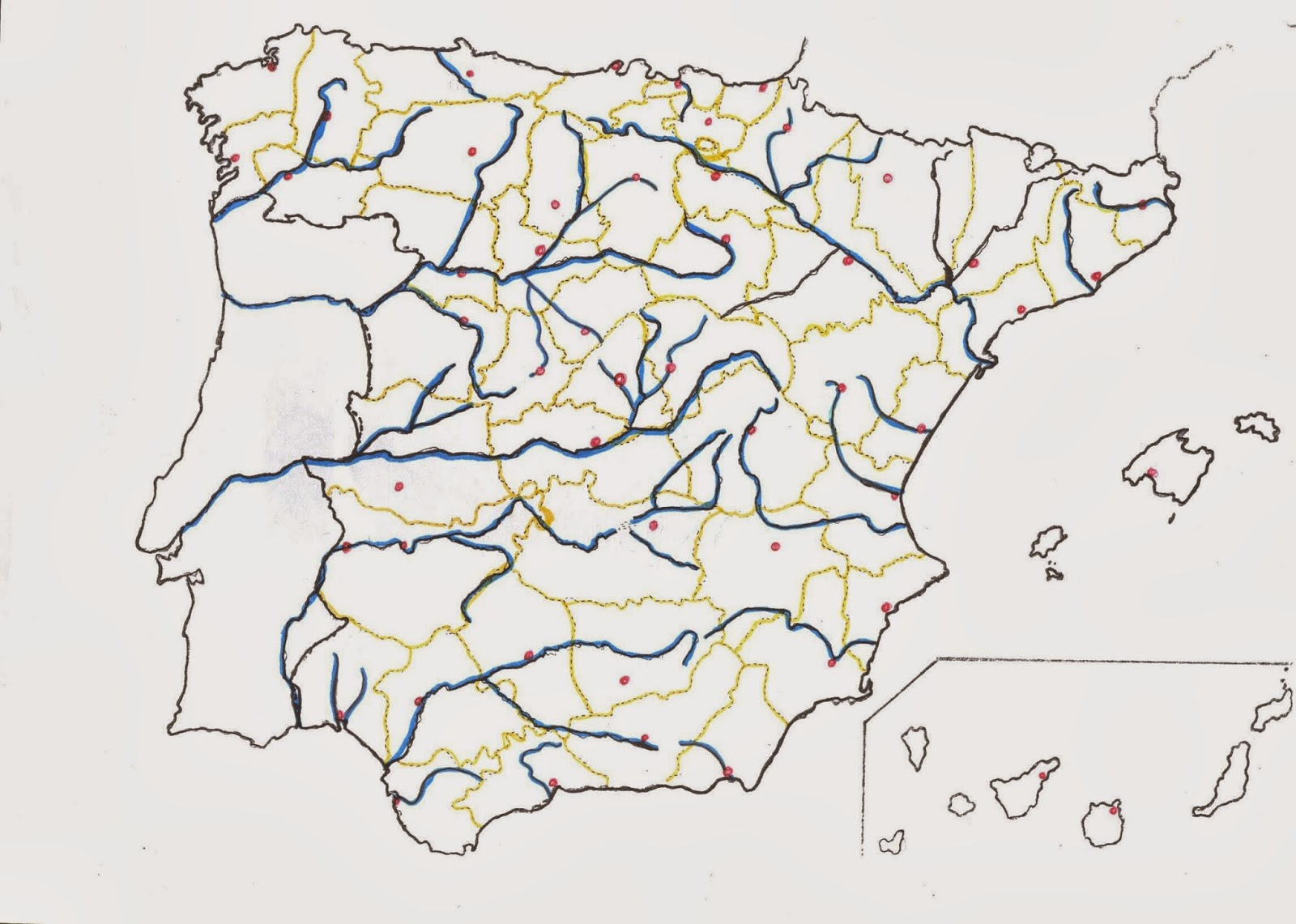 Ciudades de España ¿Cómo se llama?