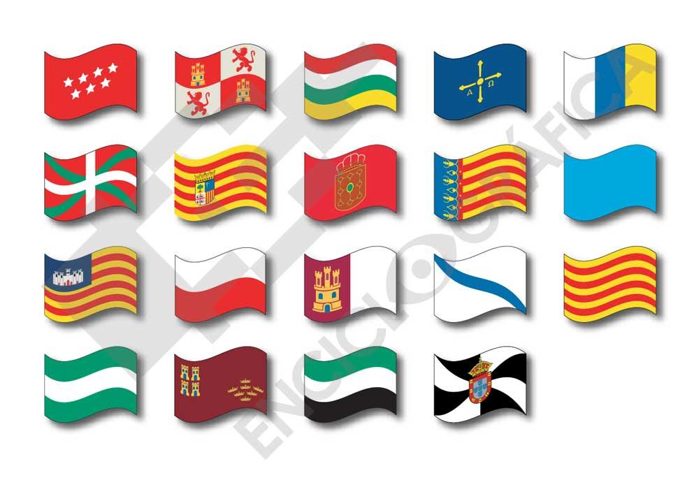 Juegos de Geografa  Juego de Banderas de comunidades autnomas