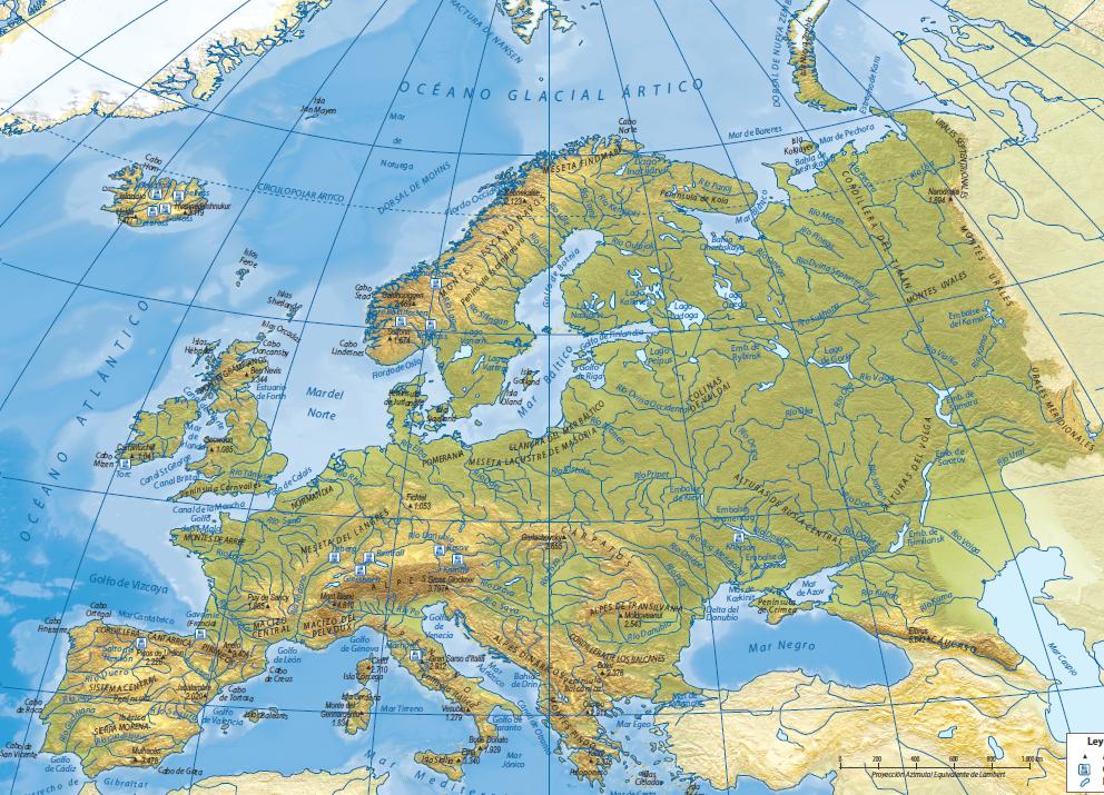 Juegos de Geografa  Juego de Europa fsico golfos y bahas