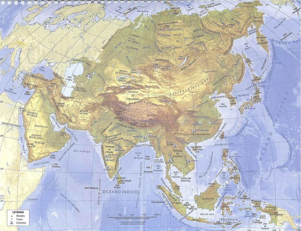 Mapa Mudo De Asia Relieve.Juegos De Geografia Juego De Relieve De Asia I Cerebriti