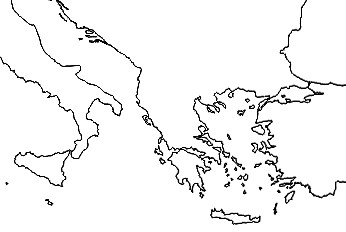 Mapa De Italia Mudo.Juegos De Historia Juego De Mapa Cultura Clasica Grecia E
