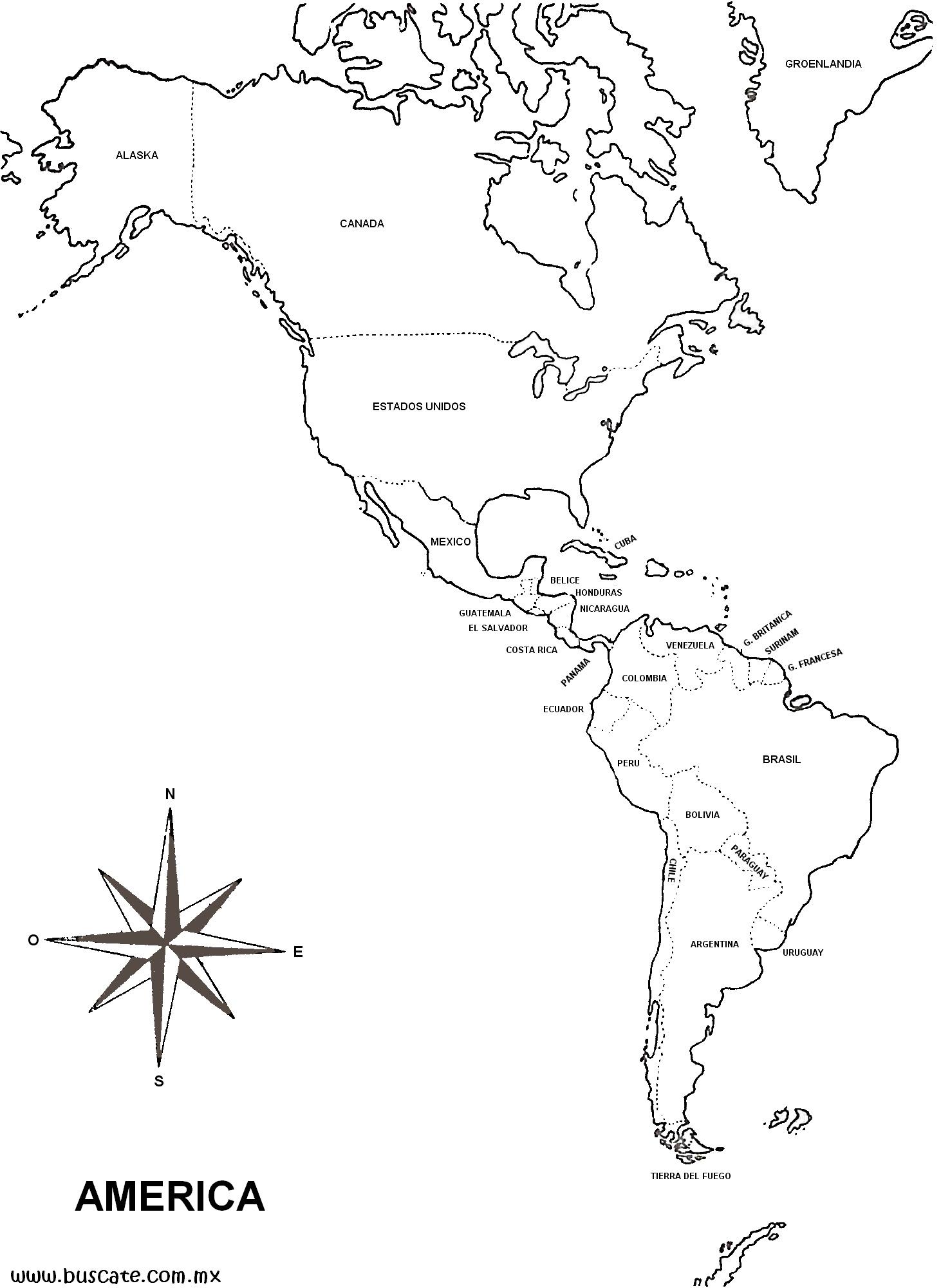 Juegos de Geografa  Juego de Amrica y sus capitales  Cerebriti