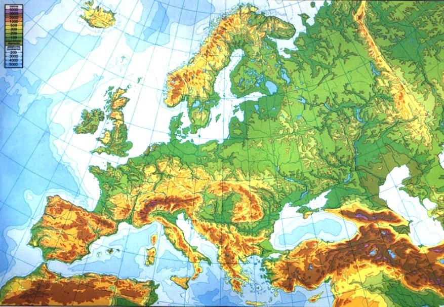 Mapa Mudo Relieve Europa.Juegos De Geografia Juego De Relieve De Europa 10 Cerebriti