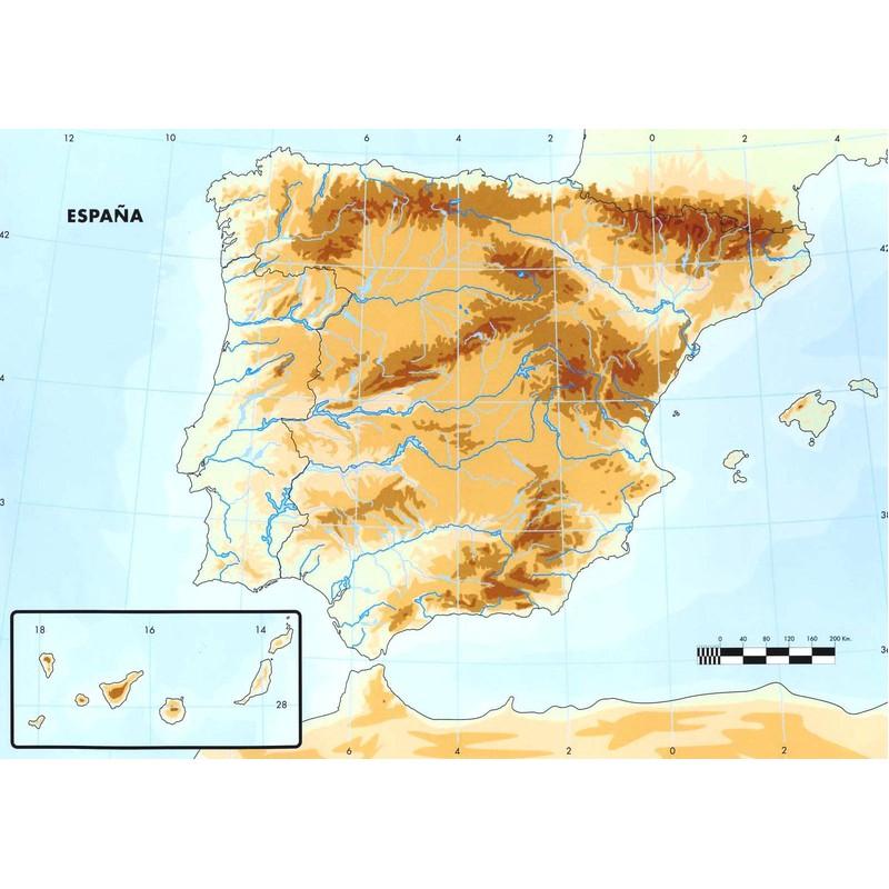 Juegos De Geografia Juego De Mapa Fisico De Espana 1 Cerebriti