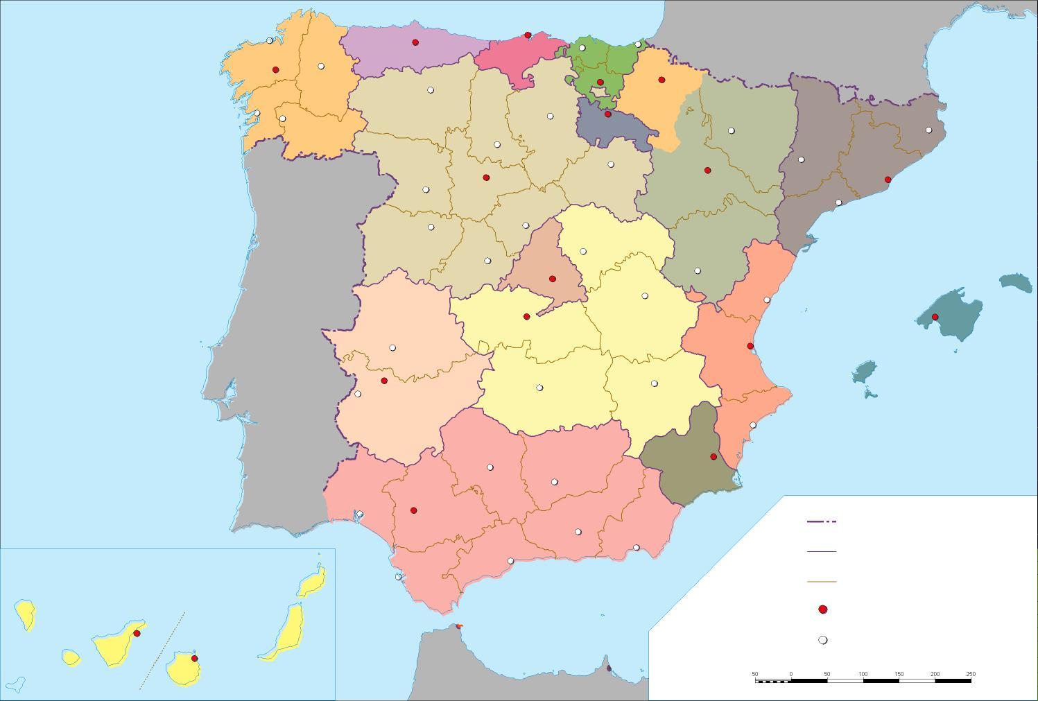 geografia provincias: