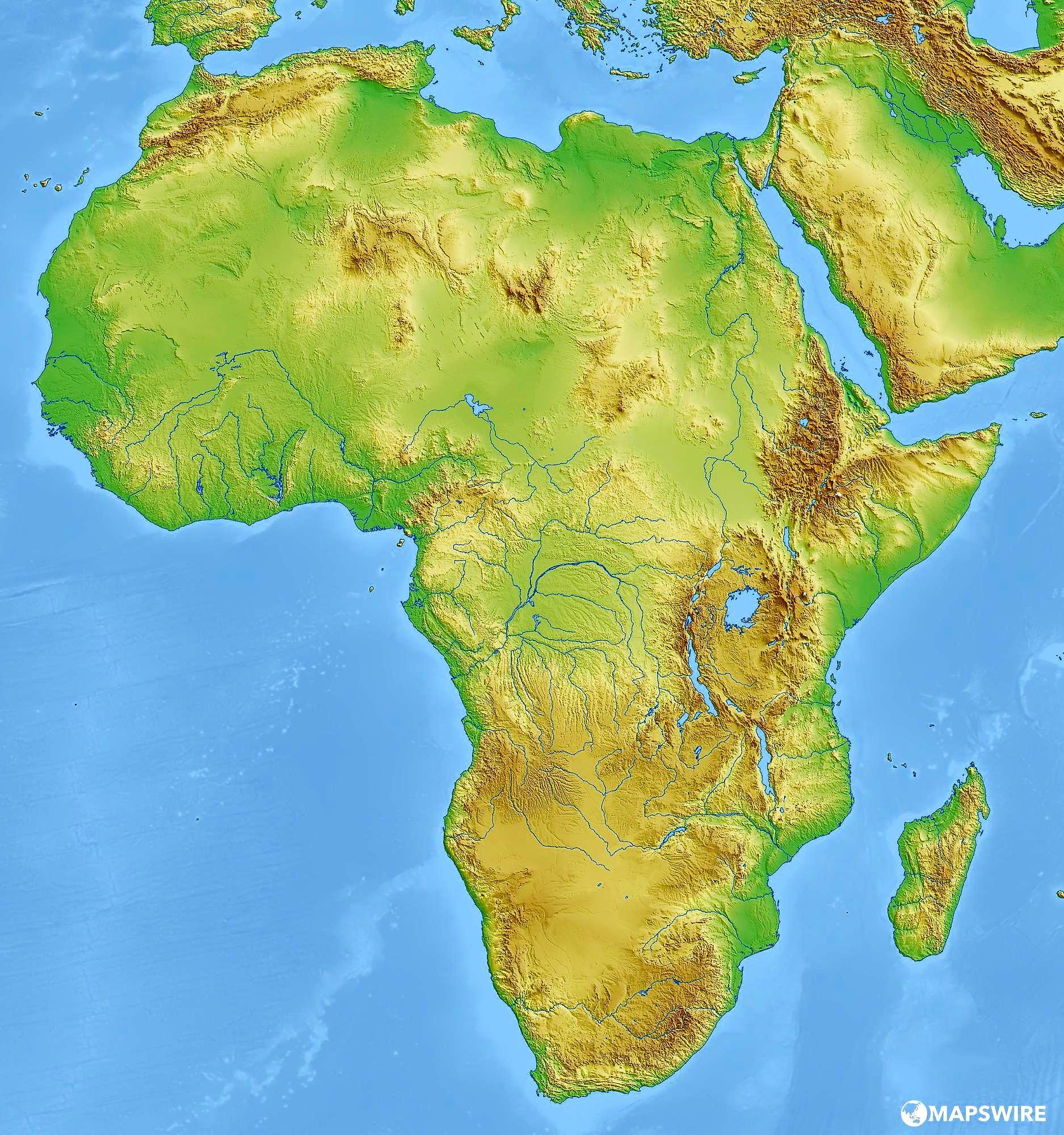 Juegos De Geografia Juego De Mapa Fisico De Africa 6 Cerebriti
