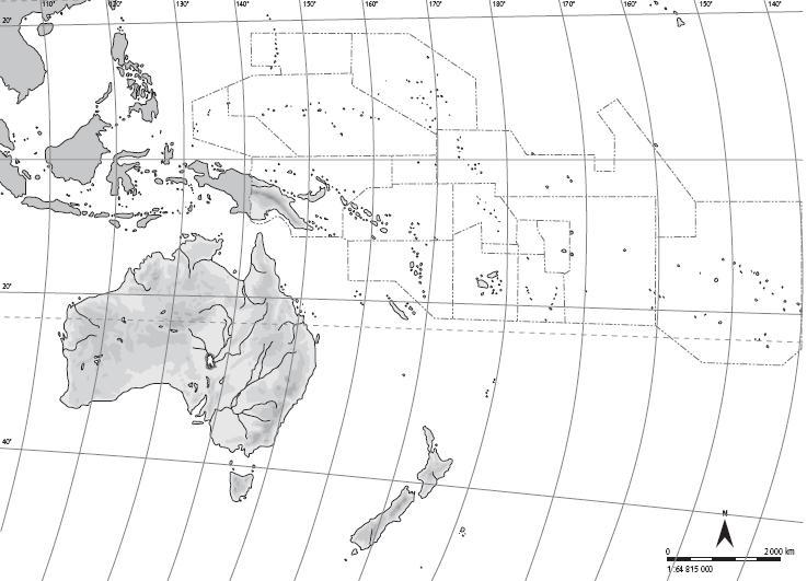 Juegos De Geografia Juego De Mapa Fisico De Oceania 1 Cerebriti