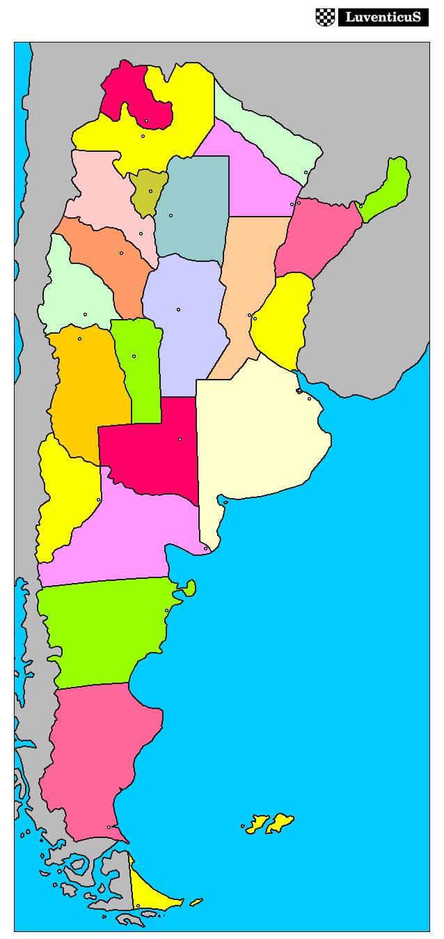 Mapa De Argentina Provincias.Juegos De Geografia Juego De Argentina Provincias Cerebriti