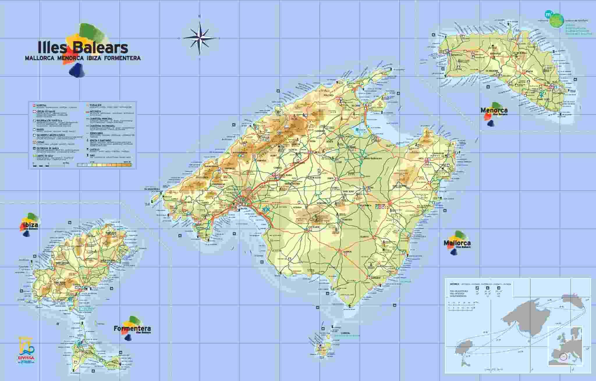 juegos de geograf a juego de islas baleares cerebriti. Black Bedroom Furniture Sets. Home Design Ideas