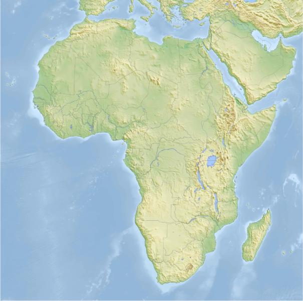 Relieve De Africa Mapa.Juegos De Geografia Juego De El Relieve De Africa Cerebriti