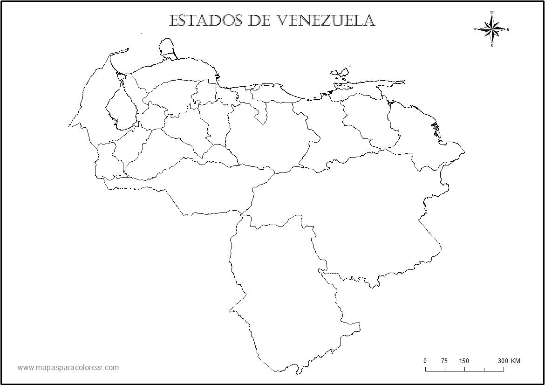 Juegos de Geografía | Juego de Estados federales de Venezuela ...