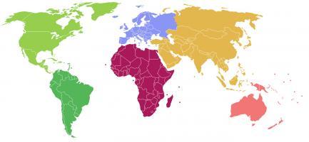 Juegos De Geografía Juego De Continentes Y Océanos Cerebriti