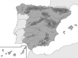 Mapa Relieve De España.Juegos De Geografia Juego De Mapa Relieve De Espana