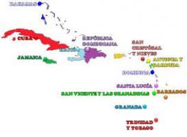 Juegos de Geografía | Juego de Países de América Insular y sus ...