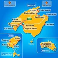 Islas Baleares Mapa Fisico.Juegos De Geografia Juego De Islas Baleares Cerebriti