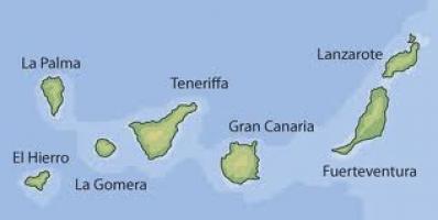 Mapa Mudo De Canarias.Juegos De Geografia Juego De Las Islas Canarias Cerebriti