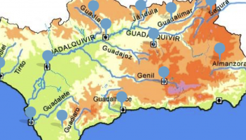 Mapa Rios De Andalucia.Juegos De Geografia Juego De Rios De Andalucia Cerebriti