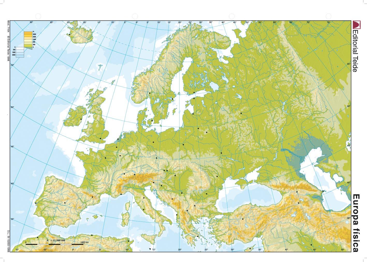 Juegos De Geografia Juego De Mapa Fisico De Europa 5 Cerebriti