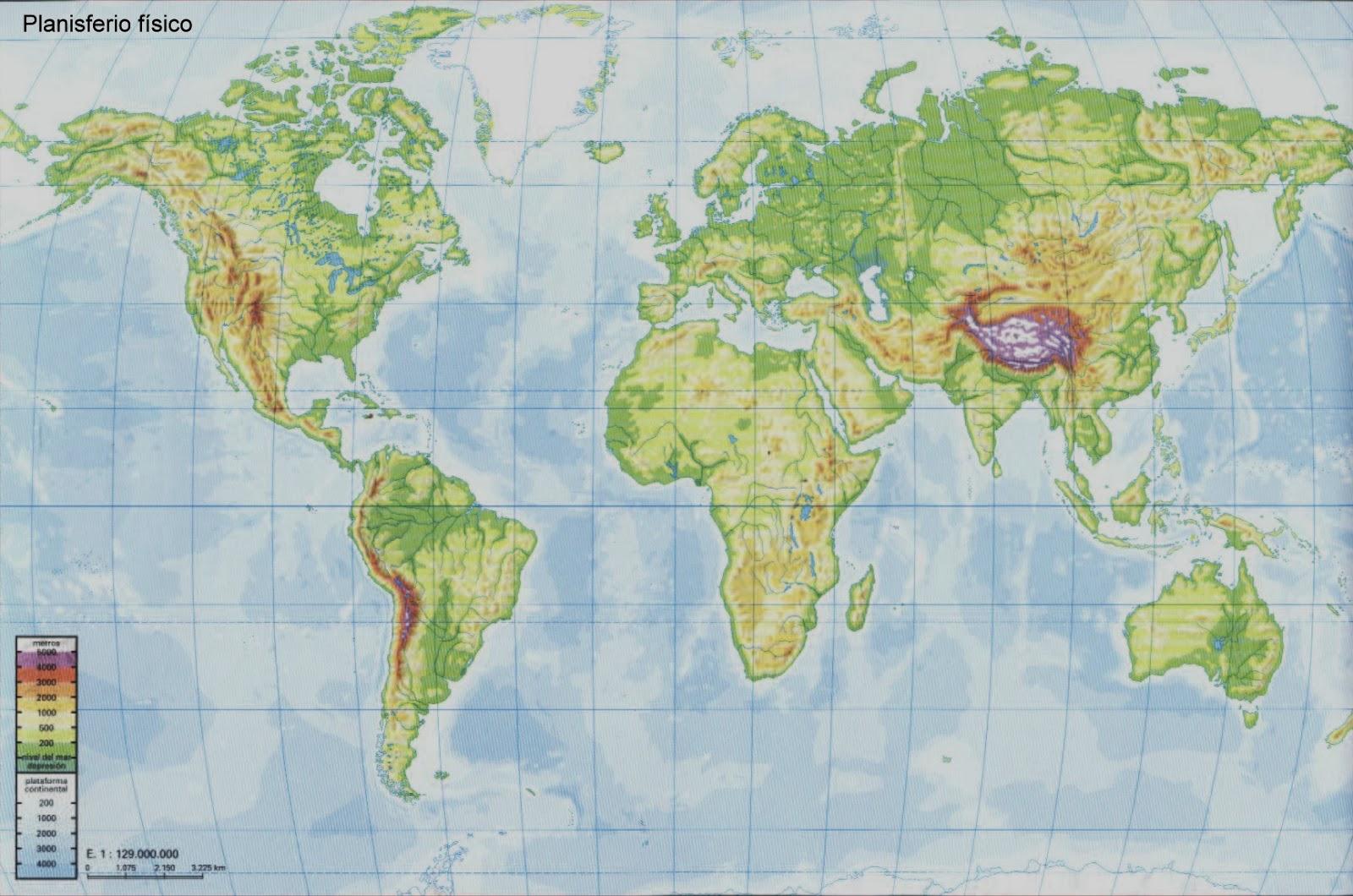 Juegos de Geografa  Juego de Relieve de Amrica frica y