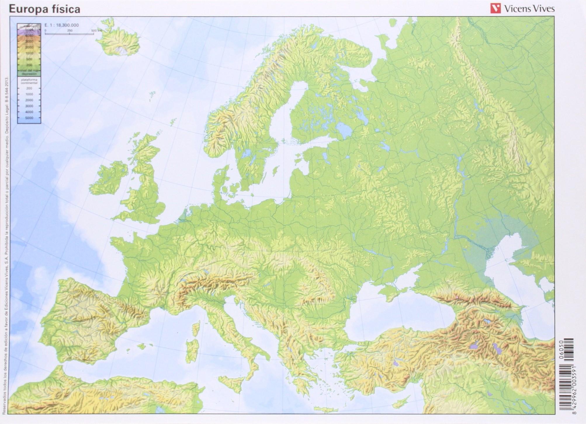 Mapa Mudo Relieve Europa.Juegos De Geografia Juego De Relieve De Europa Sexto De