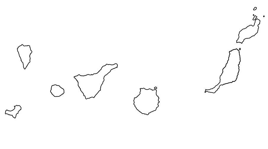 Juegos de Geografía | Juego de Las sietes Islas Canarias | Cerebriti