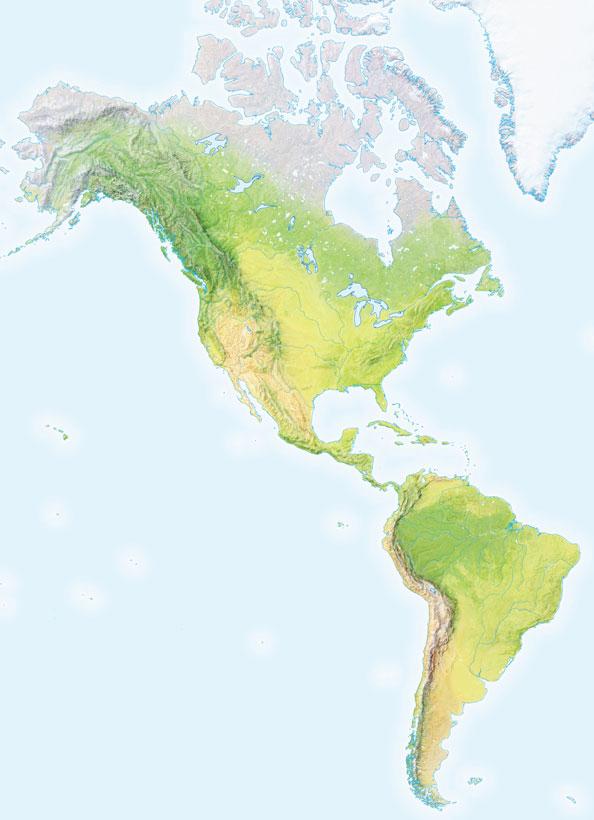 Juegos de Geografa  Juego de Relieve de Amrica  Cerebriti