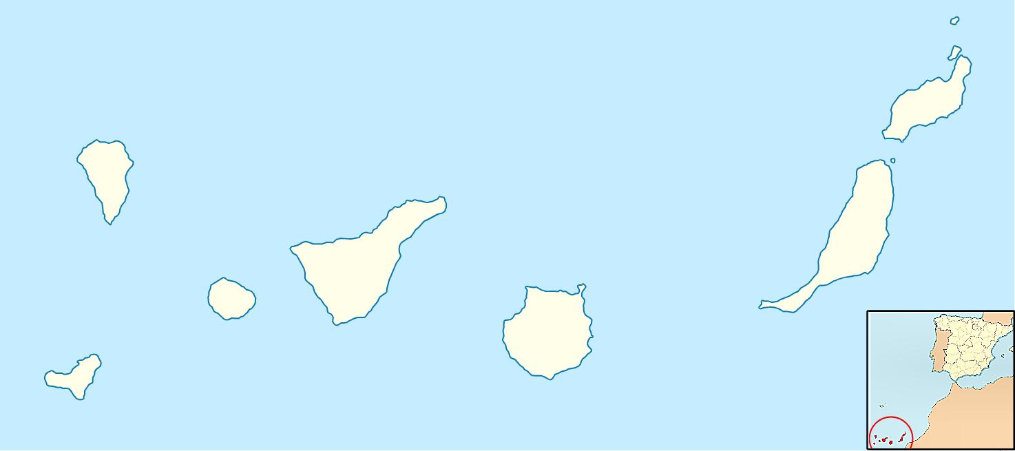 Juegos de geograf a juego de nombres de las islas - Islas canarias con ninos ...